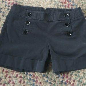 Black Express shorts
